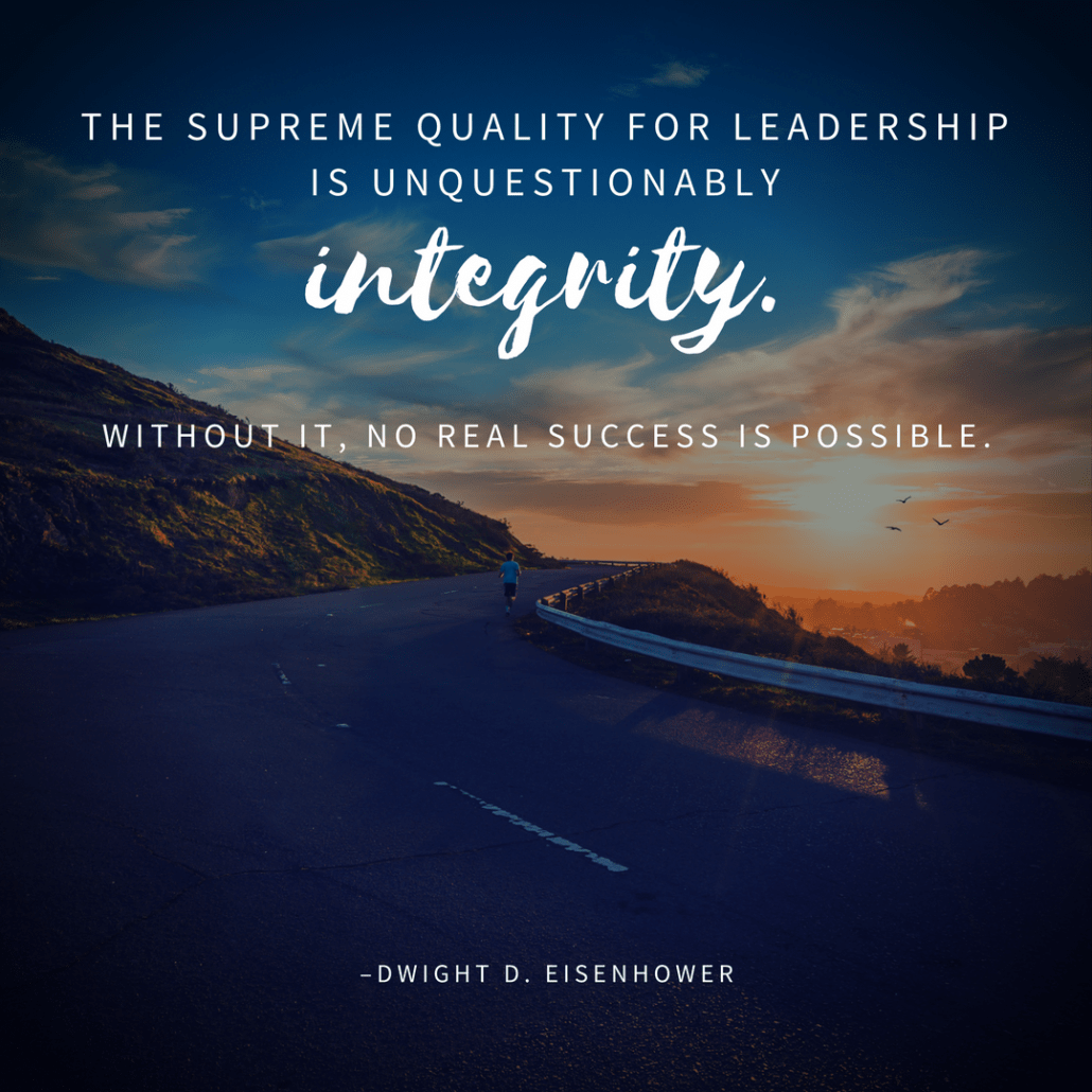 Dwight D. Eisenhower integrity