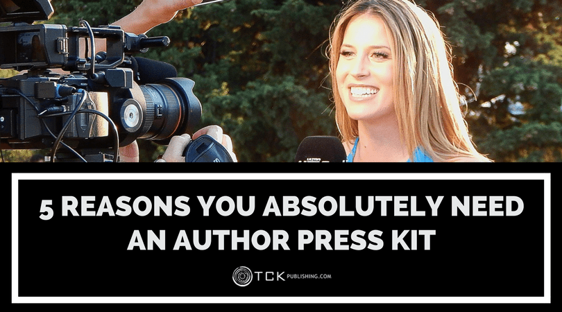 reasons why you need an author press kit