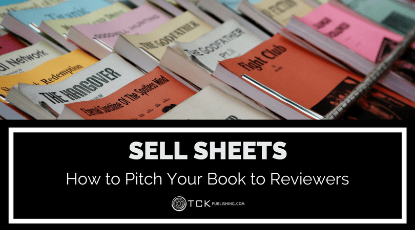 sell sheet pitch your book to reviewers