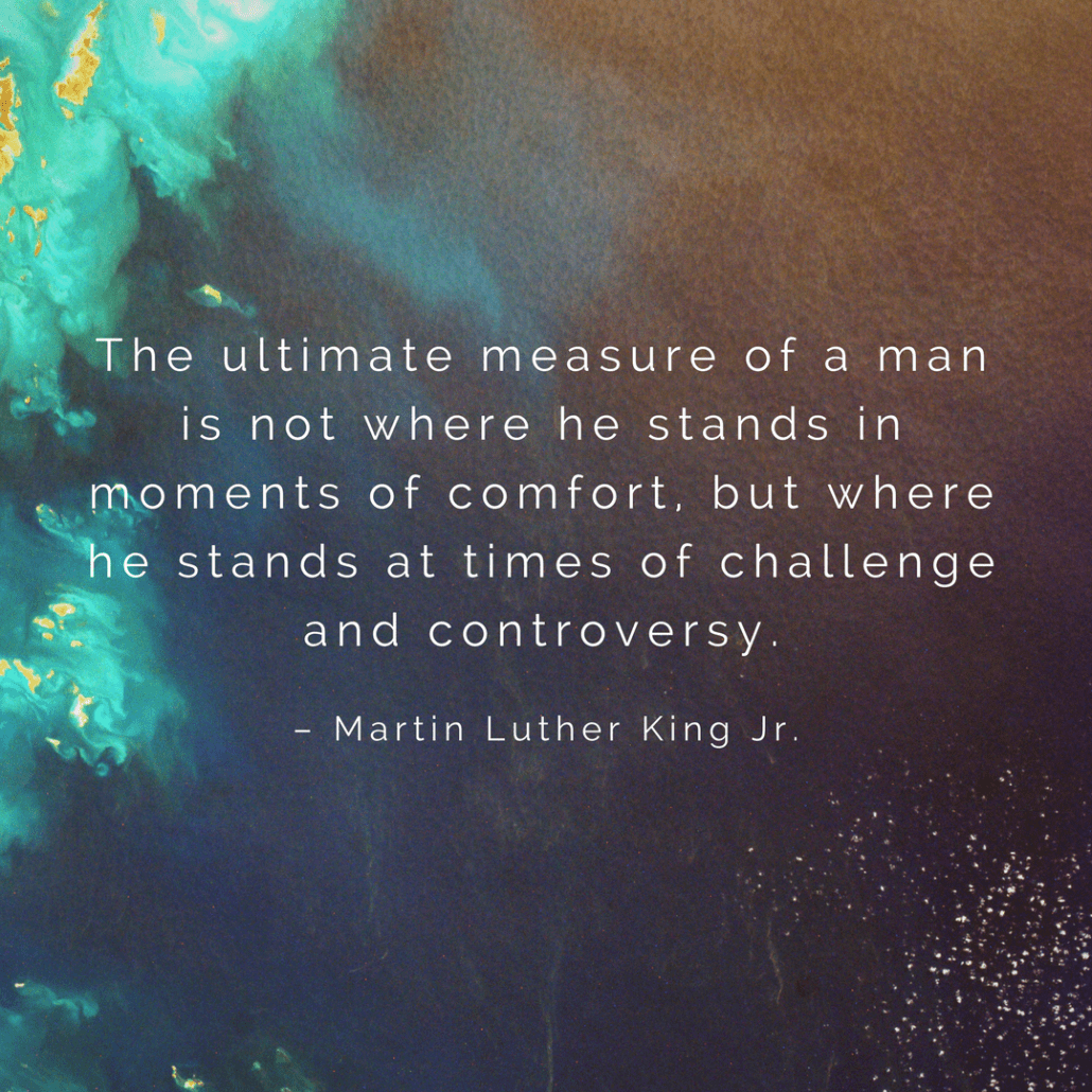 Rev. Martin Luther King Jr. quote