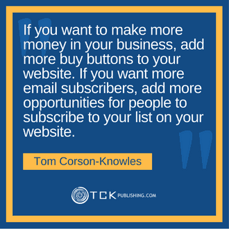 Tom Corson-Knowles quote