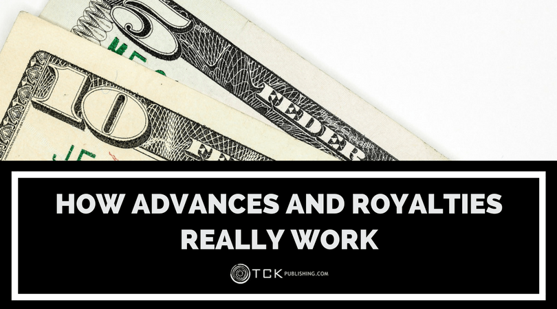 how advances and book royalties really work