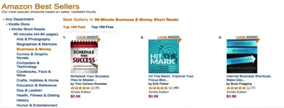 Schedule Your Success bestseller in Business & money short reads