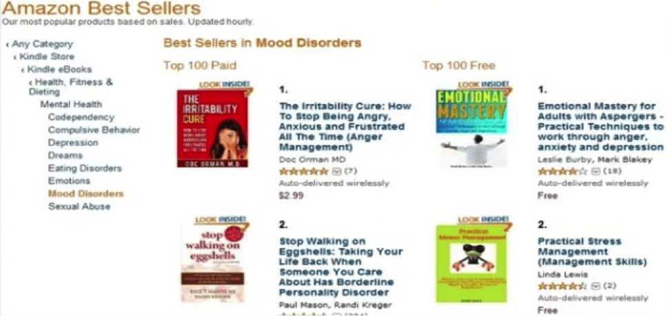 The Irritability Cure bestseller in Mood Disorder