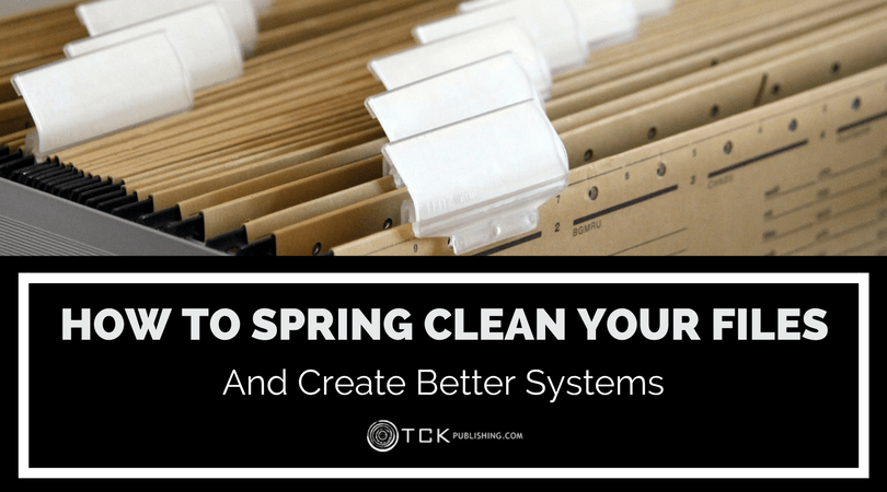 spring clean your author website files and create better systems