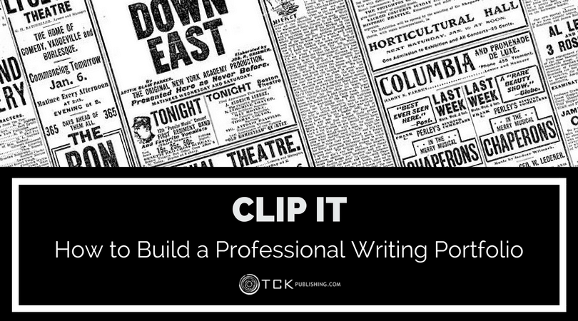clip it building your professional portfolio for writing