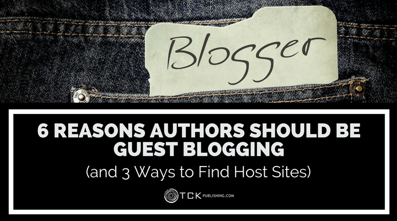 reasons authors should be guest blogging