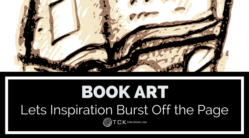 book art examples inspiration burst off the page