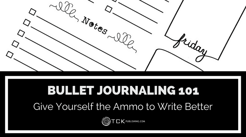 bullet journaling ammo to write better