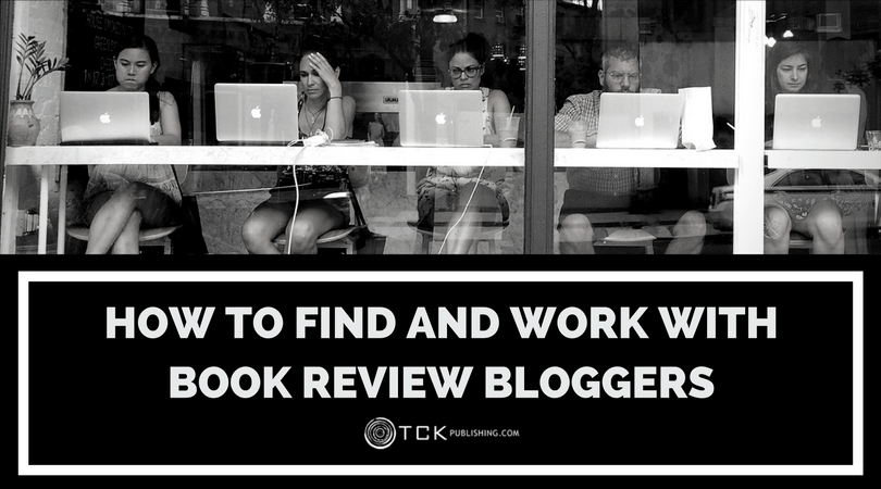 how to find and work with book review bloggers