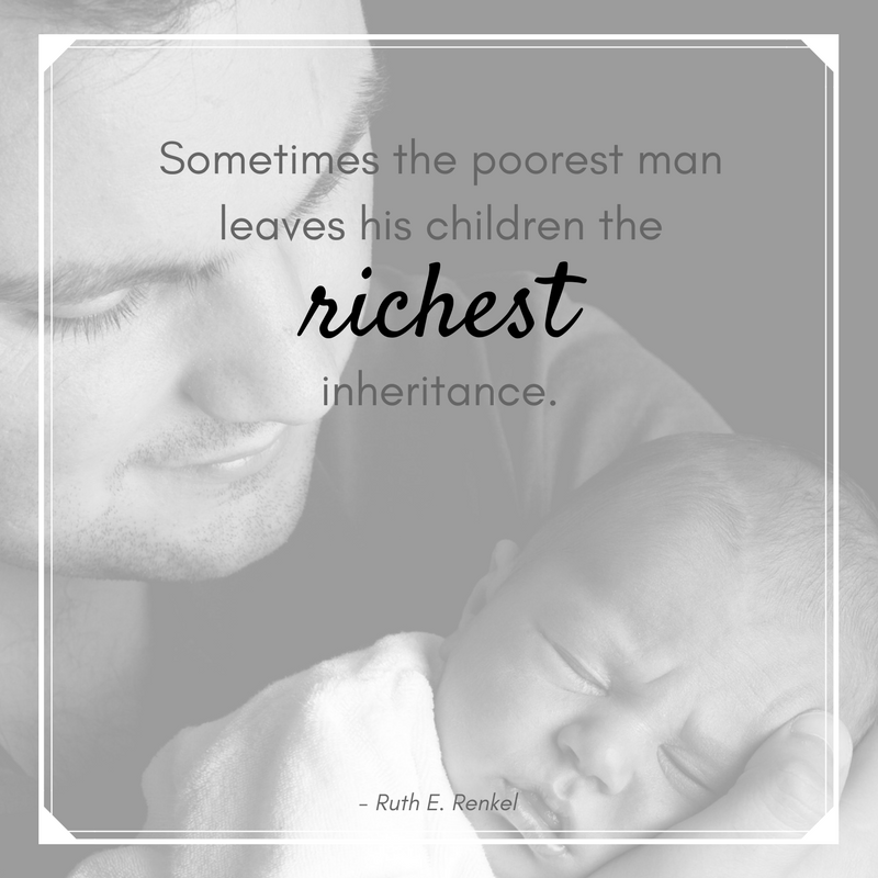 Ruth E. Renkel father quote