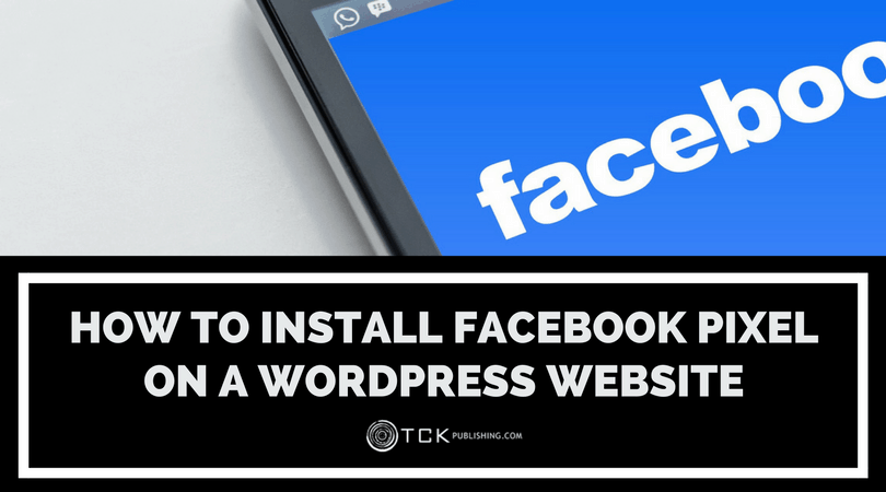 installing facebook pixel WordPress