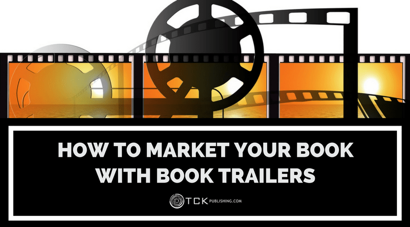 how to market a book trailer