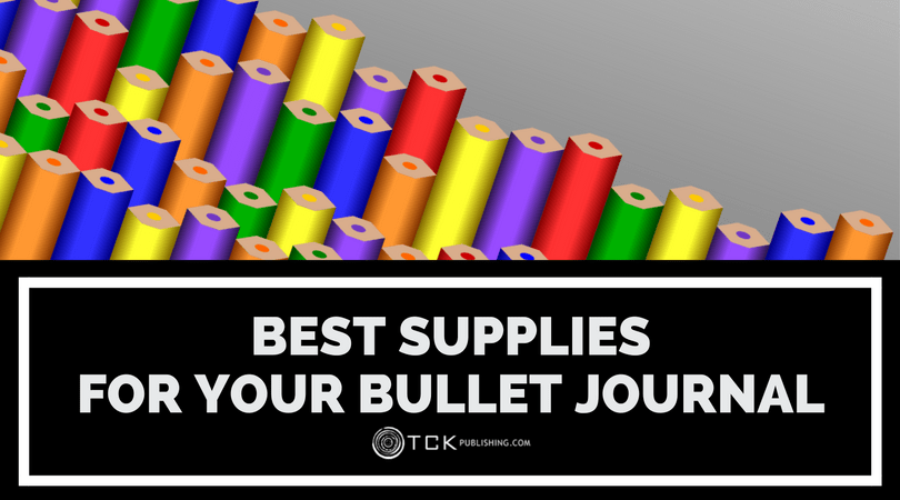 best supplies for bullet journaling