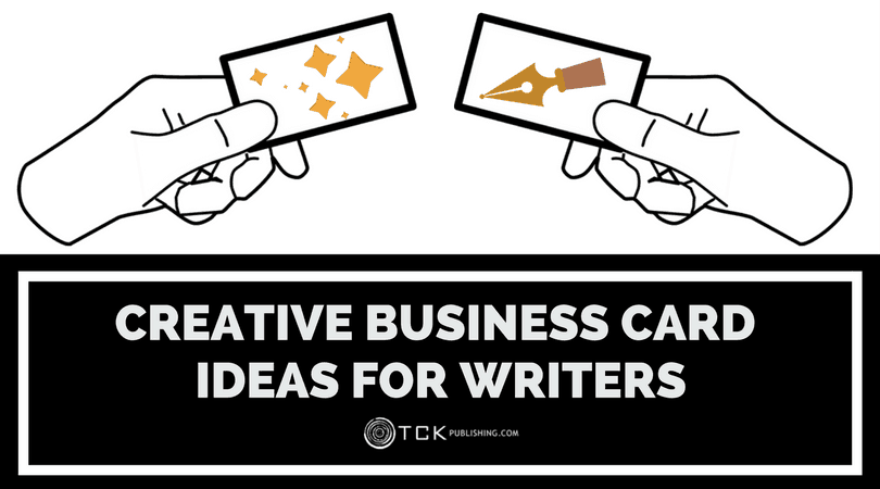 creative business cards for writers
