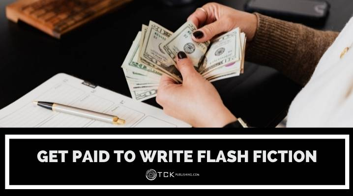 get paid to write flash fiction blog post image