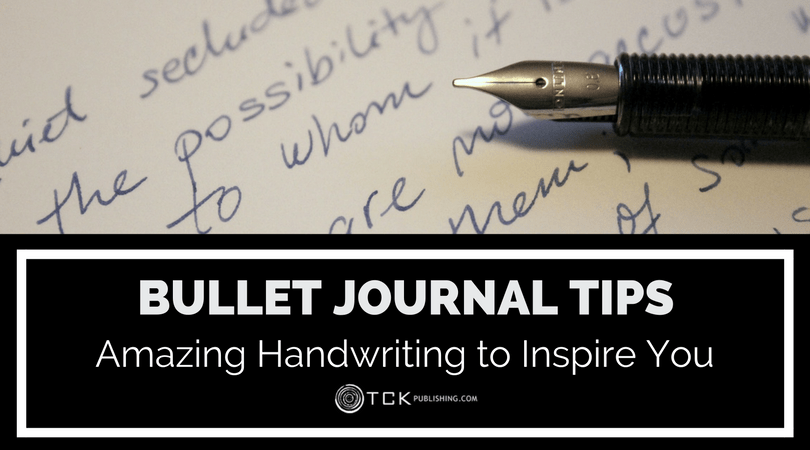 bullet journal tips handwriting to inspire you