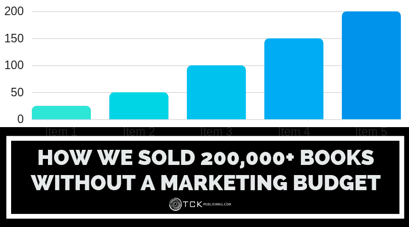 How We Sold 200,000+ Books without a Big Marketing Budget
