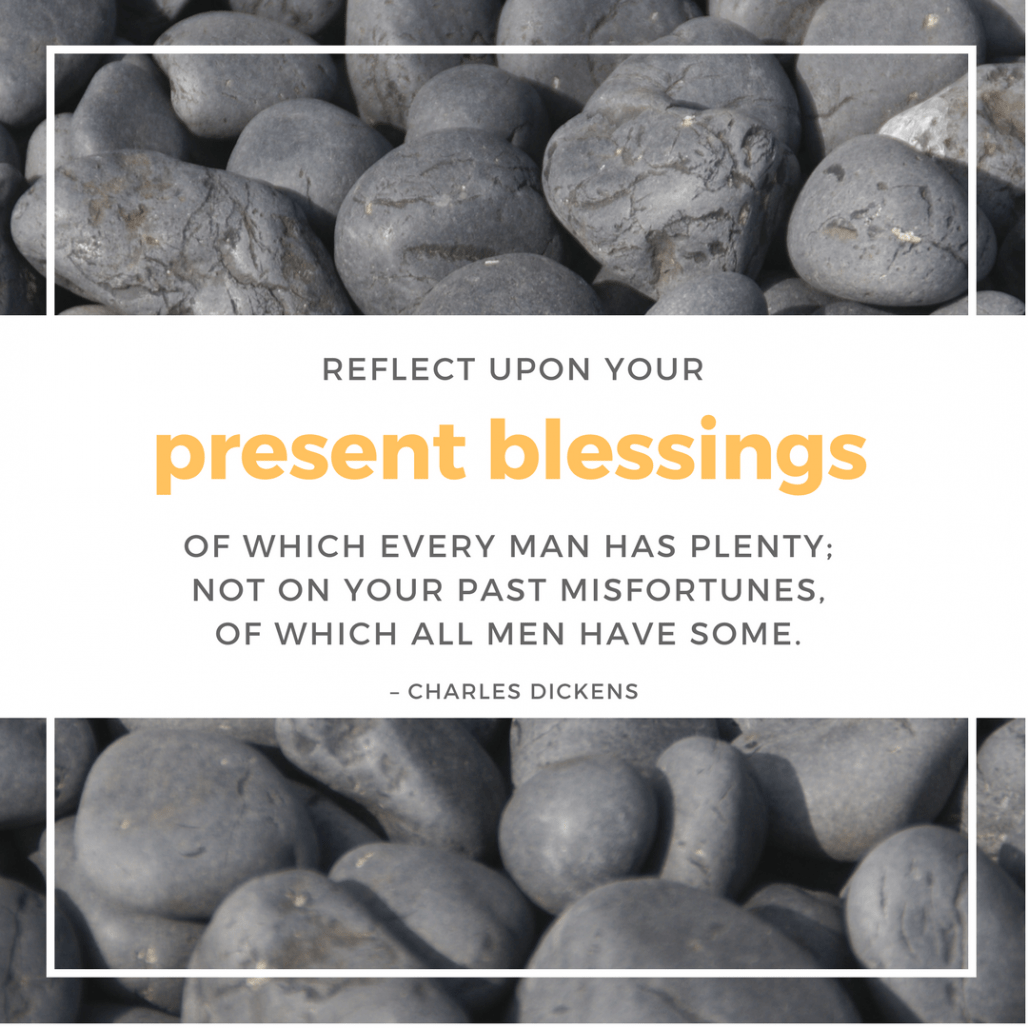 Charles Dickens present blessings