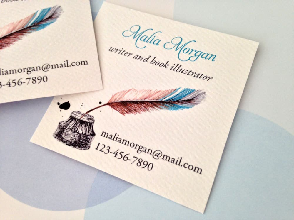 memoir writers business cards