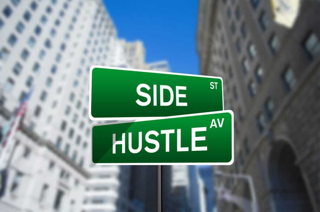 side hustle small change
