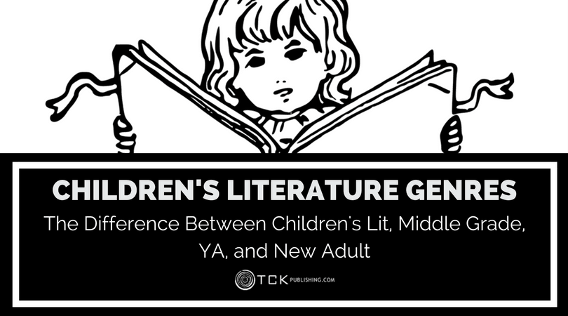 children's literature genres childrens lit middle grade YA and new adult