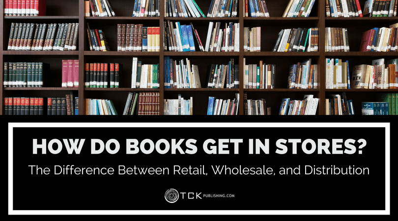 how book get in store - retail wholesale distribution