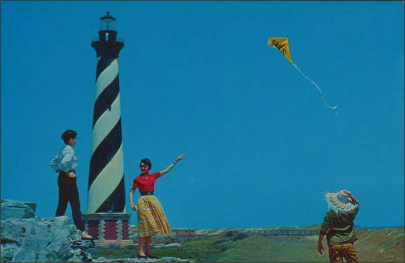 visual writing prompts - Cape Hatteras Lighthouse