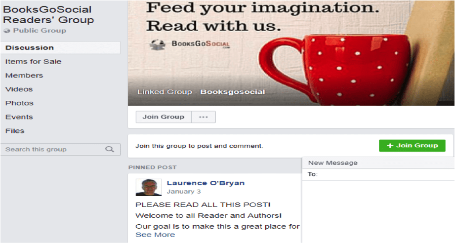 Sell more books by creating a Facebook Group about your topic