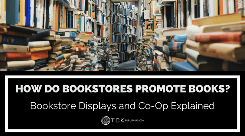 how bookstores promote books - bookstore book displays and co-op