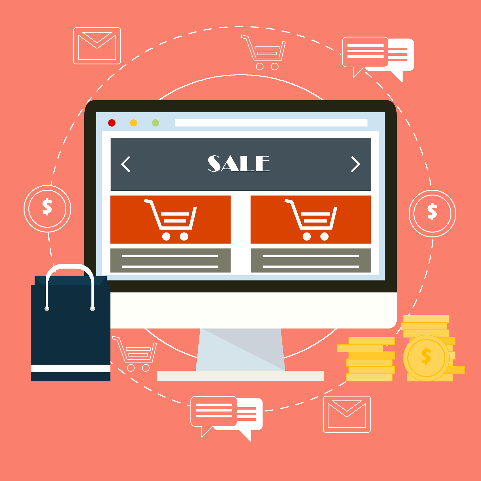 how to create an ecommerce strategy for writers