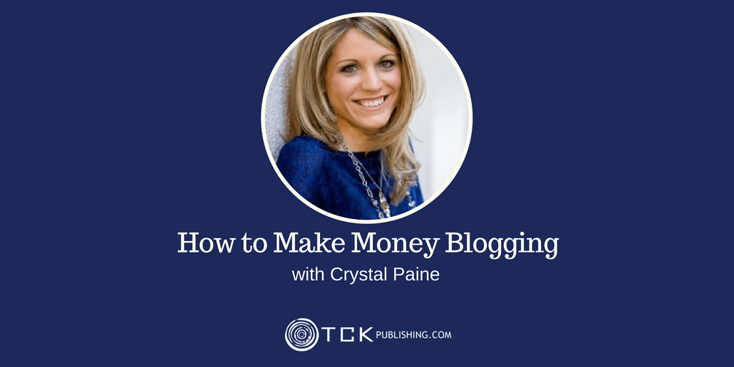 how to make money blogging with Crystal Paine