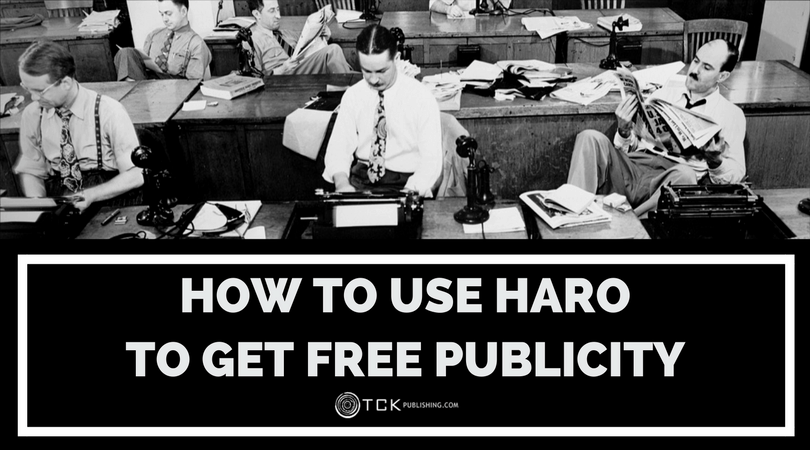 how to get free publicity with HARO