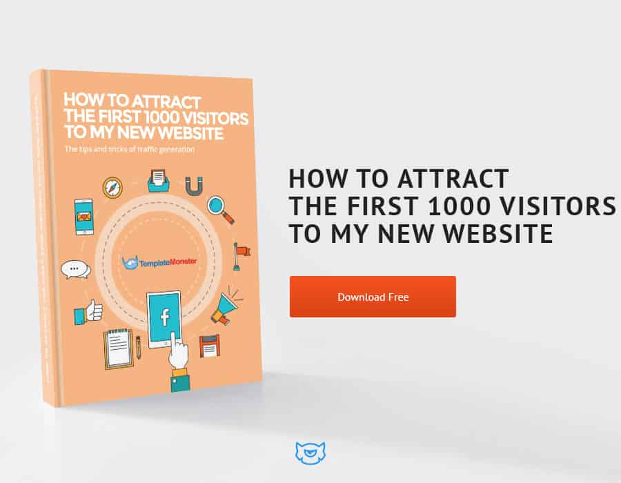 how to get visitors to your new website
