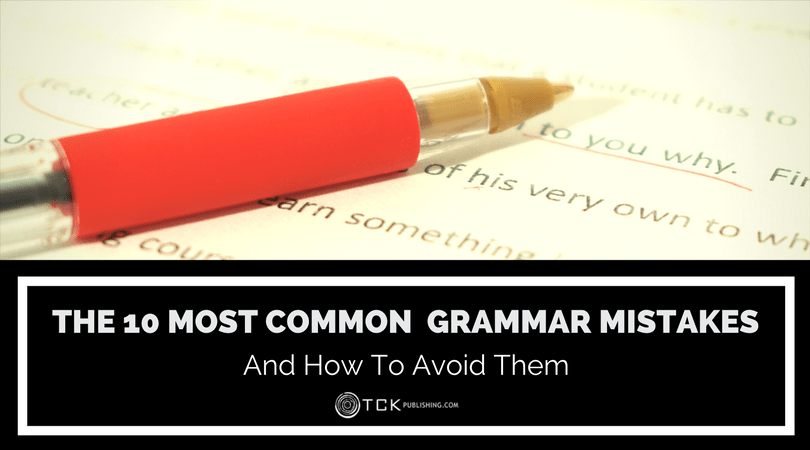 how to fix common grammar mistakes