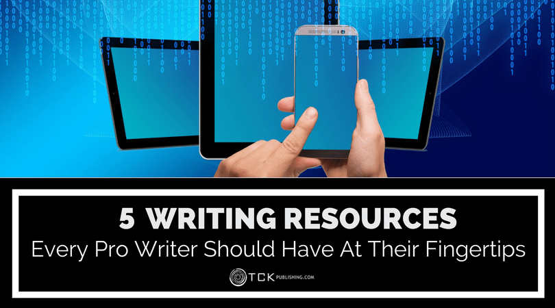 5 key resources for pro writers