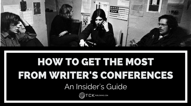 why you should attend writers conferences