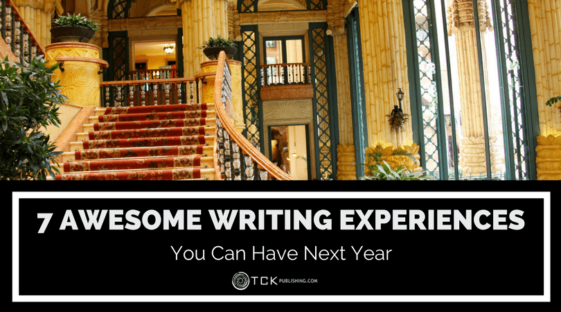 7 amazing writing experiences you can have next year