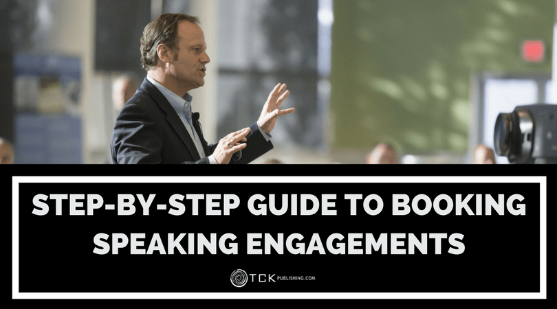 how to book speaking gigs and speaking engagements