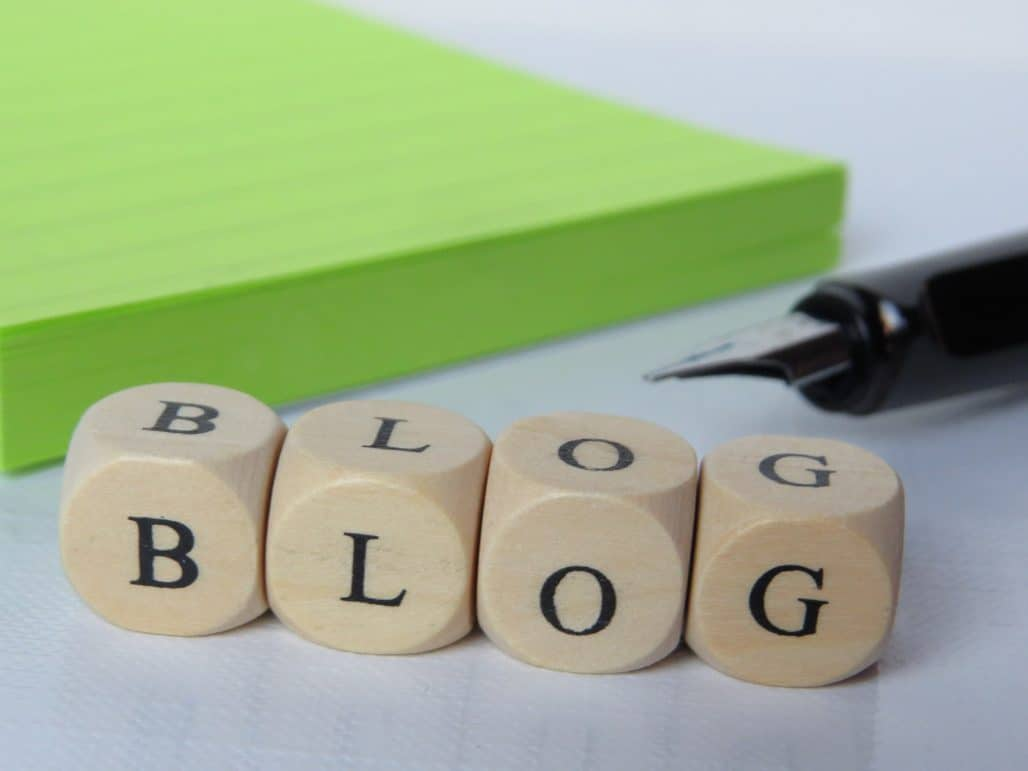 how to create an author blog