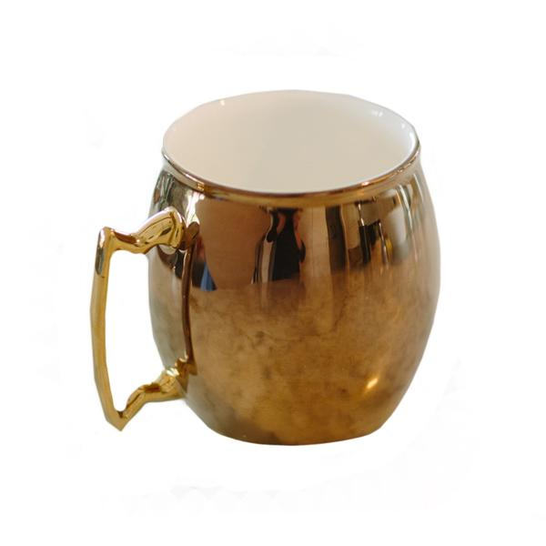 moscow fuel copper coffee mug