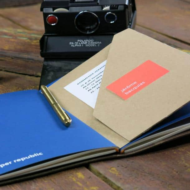 handmade heritage travel notebook for writers
