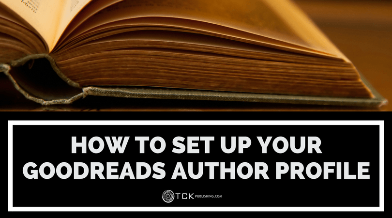 how to set up your goodreads author profile