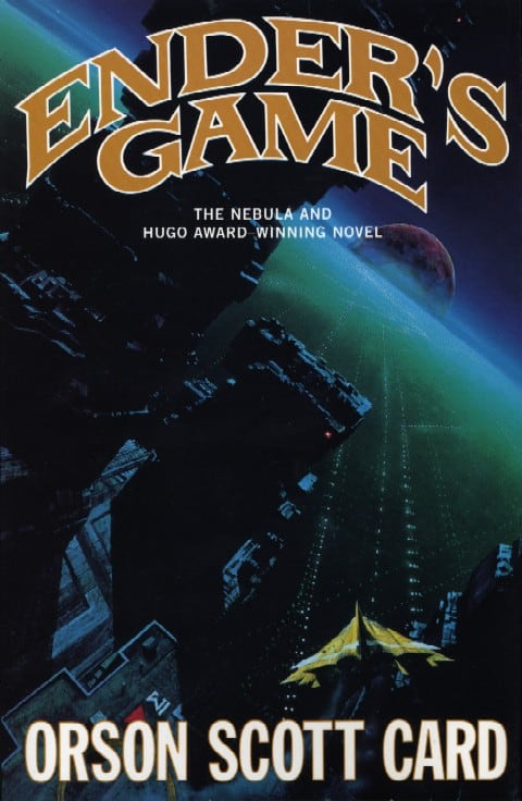 enders game orson scott card book cover