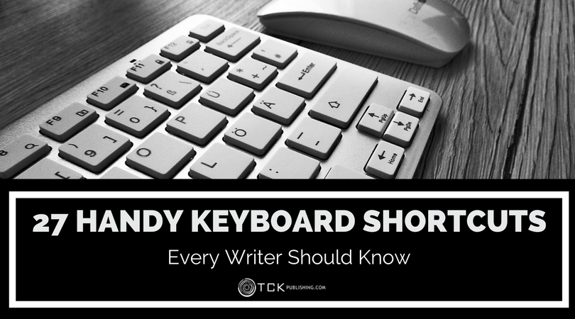 27 Handy Keyboard Shortcuts Every Writer Should Know