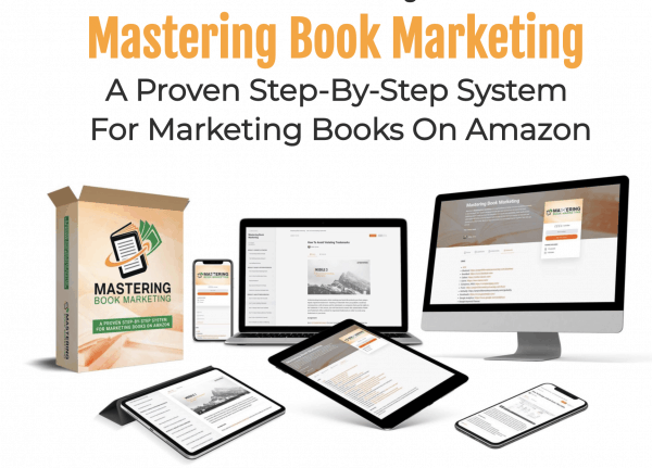 mastering book marketing course image
