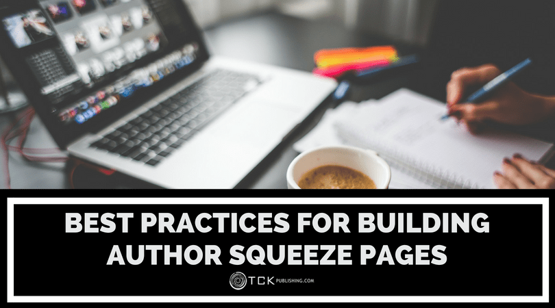 Best Practices for Building Author Squeeze Pages image