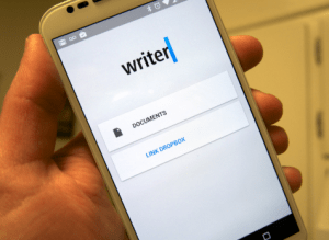 Mobile Writing App - Writer image