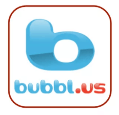 Mobile Writing App - bubbl.us image