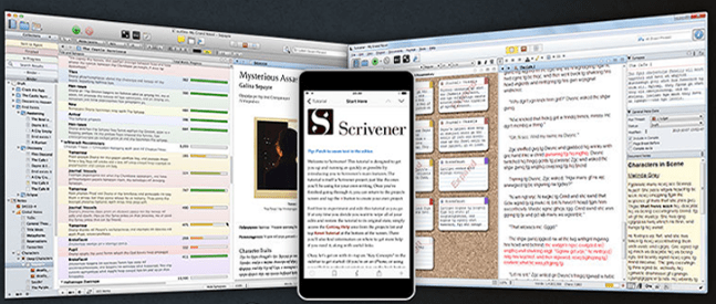 The Best Writing Software for Writers-Scrivener image